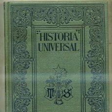 Libros antiguos: ONCKEN : HISTORIA UNIVERSAL 10 - PENÍNSULA IBÉRICA / PUEBLOS GERMÁNICOS (MONTANER & SIMON, 1934). Lote 32141977