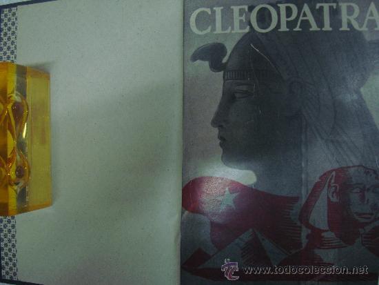 CLEOPATRA. POR OSKAR. V. WERTHERIMER. ED. JOVENTUD 1932. OBRA ILUSTRADA. (Libros antiguos (hasta 1936), raros y curiosos - Historia Antigua)