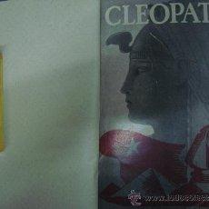 Libros antiguos: CLEOPATRA. POR OSKAR. V. WERTHERIMER. ED. JOVENTUD 1932. OBRA ILUSTRADA.. Lote 32687567