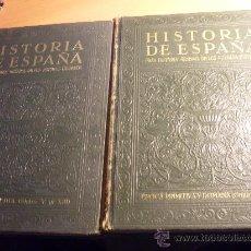 Libros antiguos: HISTORIA DE ESPAÑA. GRAN HISTORIA GENERAL DE LOS PUEBLOS HISPANOS. TOMOS I-II . INS GALLACH (LE4). Lote 32726191