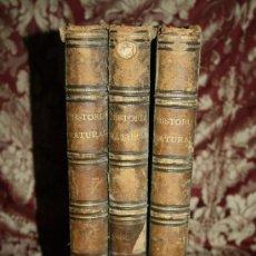 Libros antiguos: 1358- 'LA CREACION HISTORIA NATURAL' POR UNA SOCIEDAD DE NATURALISTAS 3 TOMOS (INCOMPLETA) 1873. Lote 33113854