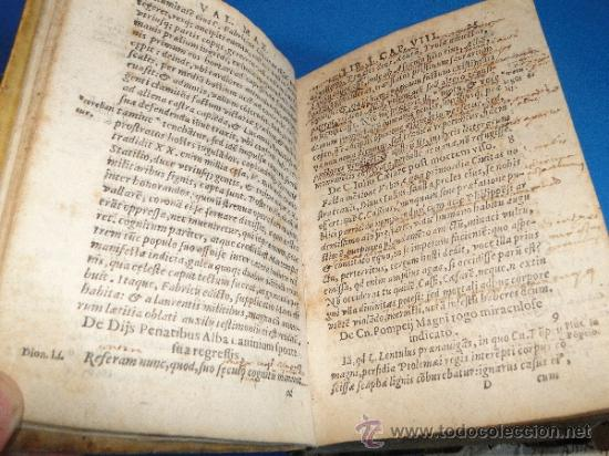 Libros antiguos: VALERII MAXIMI. DICTORVM EACTORVMO MEMORABILIVM. LIBRI NOVEM.-- AÑO.-1605 - Foto 6 - 33540307