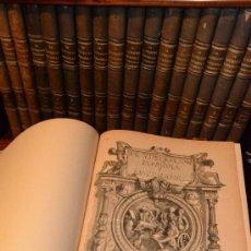 Libros antiguos: LA ILUSTRACION ESPAÑOLA Y AMERICANA AÑO COMPLETO 1887 1º Y 2º TOMOS. Lote 33886122