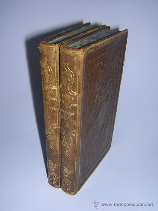 1842 - VERTOT - HISTOIRE DES REVOLUTIONS ARRIVEES DANS LA REPUBLIQUE ROMAINE (Libros antiguos (hasta 1936), raros y curiosos - Historia Antigua)