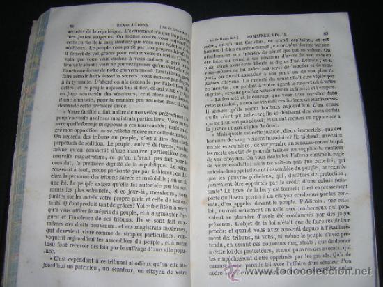 Libros antiguos: 1842 - VERTOT - HISTOIRE DES REVOLUTIONS ARRIVEES DANS LA REPUBLIQUE ROMAINE - Foto 3 - 34009511