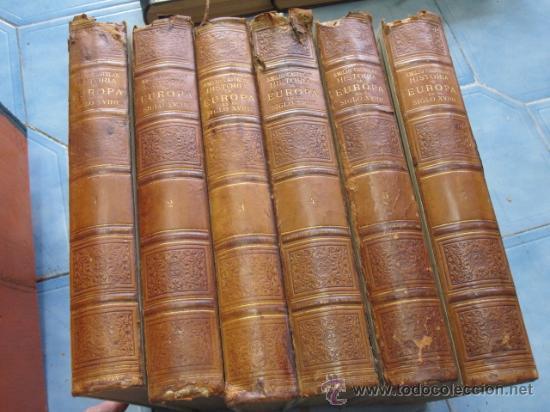 Libros antiguos: Historia de Europa en el siglo XVIIII - 6 Volúmenes - Emilio Castelar - 1897 - láminas + INFO /FOTOS - Foto 6 - 34024718