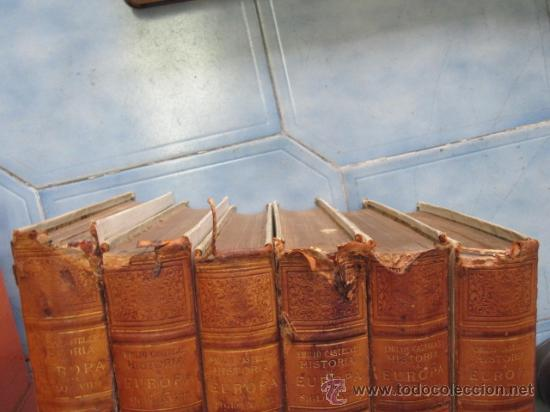 Libros antiguos: Historia de Europa en el siglo XVIIII - 6 Volúmenes - Emilio Castelar - 1897 - láminas + INFO /FOTOS - Foto 7 - 34024718