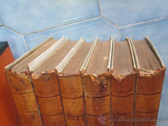 Libros antiguos: Historia de Europa en el siglo XVIIII - 6 Volúmenes - Emilio Castelar - 1897 - láminas + INFO /FOTOS - Foto 8 - 34024718