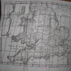 Libros antiguos: HISTOIRE DES REVOLUTIONS D´ANGLETERRE, 1744, PERE D´ORLEANS. CONTIENE 3 MAPAS DESPLEGABLES Y 7 RETRA. Lote 34209615