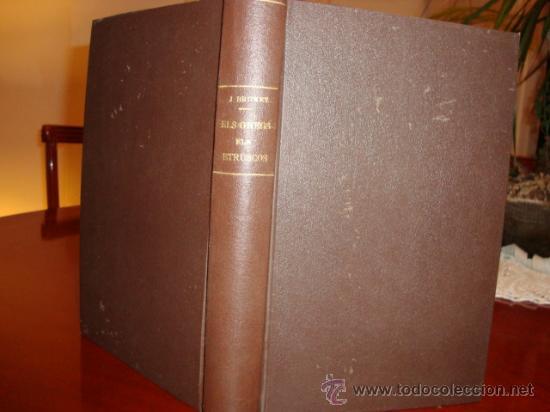 (490) ERROS HISTORICS- ELS GREGS ELS ETRUSCOS (Libros antiguos (hasta 1936), raros y curiosos - Historia Antigua)