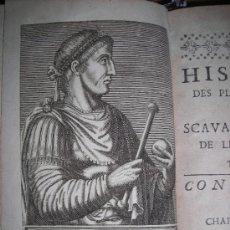 Libros antiguos: HISTOIRE DES PLUS ILLUSTRES ET SCAVANS HOMMES DE LEVRS SIECLES, A. THEVET, 1671. CONTIENE 16 GRABADO. Lote 34409431
