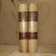 Libros antiguos: 2010- LOS DIOSES DE GRECIA Y ROMA.VICTOR GEBHARD. EDIT. BIBLIOT. ILUST. ESPASA. 1881. 2 VOL.. Lote 34574106