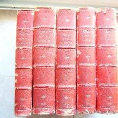 Alte Bücher - HISTORIA GENERAL DE ESPAÑA DESDE...- MIGUEL MORAYTA DE SAGRARIO - TOMOS DEL 1 AL 5 - 1889 - 1ª EDIC. - 35029341