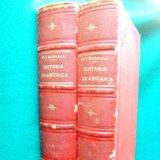 Libros antiguos: HISTORIA GENERAL DE AMERICA DESDE SUS... - FRANCISCO PI Y MARGALL - COMPLETA 2 TOMOS - 1888. Lote 35031575