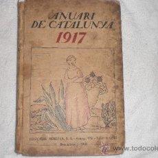Libros antiguos: ANUARI DE CATALUNYA 1917. Lote 35547787