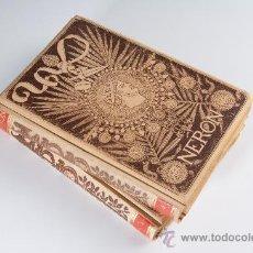 Libros antiguos: 2 LIBROS DE NERON, ESTUDIO HISTORICO POR DON EMILIO CASTELAR, AÑO 1891. Lote 35562280