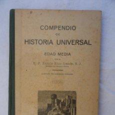 Libros antiguos: LIBRO - COMPENDIO DE LA HISTORIA UNIVERSAL -. AÑO 1924.. Lote 35655816