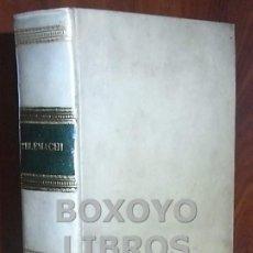 Libros antiguos: FENELON (FRANCISCI SALIGNAC DE LA MOTTE). FATA TELEMACHI, FILII ULISSIS REGIS ITHACAE. 1744. Lote 35665469