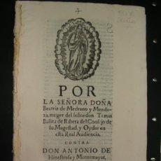 Libros antiguos: ALEGACIÓN SIGLO XVII. ECIJA, SEVILLA.. Lote 35676183