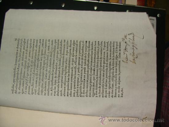 Libros antiguos: Alegación siglo XVII. Ecija, Sevilla. - Foto 2 - 35676183