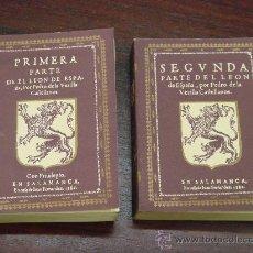 Libros antiguos: EL LEON DE ESPAÑA, 1ª Y 2ª PARTE. (2 TOMOS). Lote 36242187