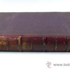 Libros antiguos: PROVINCIA DE HUESCA, CRONICA GENERAL DE ESPAÑA. RONCHI ED. 1866. 32X23,5 CM.. Lote 36328924