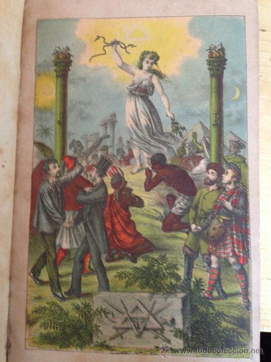 Libros antiguos: 1890?.- MANUAL DE LA MASONERIA. ANDRÉS CASSARD. - Foto 2 - 36378110