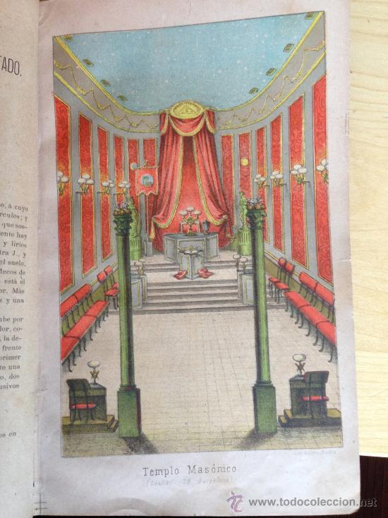 Libros antiguos: 1890?.- MANUAL DE LA MASONERIA. ANDRÉS CASSARD. - Foto 5 - 36378110