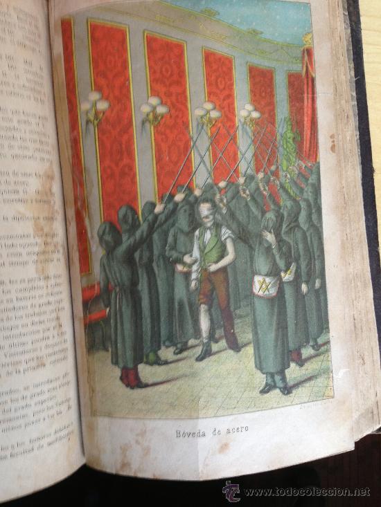 Libros antiguos: 1890?.- MANUAL DE LA MASONERIA. ANDRÉS CASSARD. - Foto 6 - 36378110