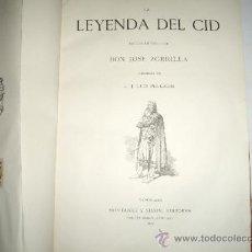 Libros antiguos: LA LEYENDA DEL CID. Lote 36578862