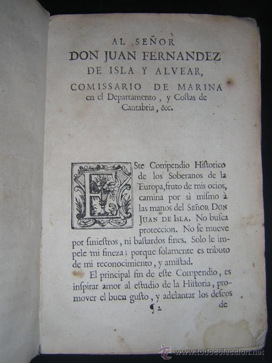 Libros antiguos: 1755 - MANUEL TRINCADO - COMPENDIO HISTORICO Y GENEALOGICO DE LOS SOBERANOS DE EUROPA, SUS CORTES... - Foto 5 - 36539824