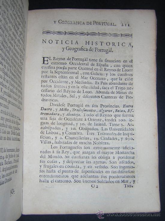 Libros antiguos: 1755 - MANUEL TRINCADO - COMPENDIO HISTORICO Y GENEALOGICO DE LOS SOBERANOS DE EUROPA, SUS CORTES... - Foto 9 - 36539824