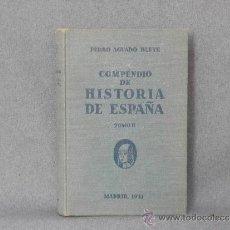 Libros antiguos: COMPENDIO DE LA HISTORIA DE ESPAÑA TOMO II. Lote 37254768