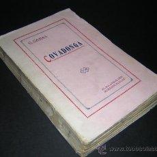 Libros antiguos: 1918 - CONSTANTINO CABAL - COVADONGA - PRIMERA EDICION. Lote 37566322