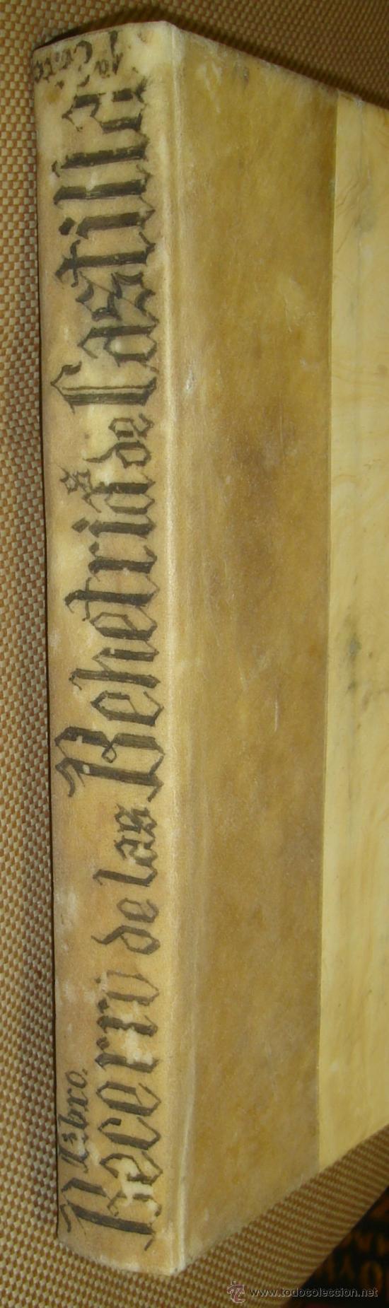 Libros antiguos: Las Behetrías de Castilla,Espectacular Facsímil,1865,Chancillería de Valladolid,Santander - Foto 3 - 57095494