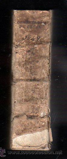 Libros antiguos: 1549,Comentarios de la Guerra de las Galias,Cayo Julio César,excepcional libro en - Foto 6 - 37705325