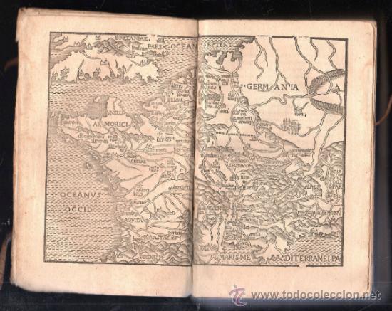 Libros antiguos: 1549,Comentarios de la Guerra de las Galias,Cayo Julio César,excepcional libro en - Foto 2 - 37705325