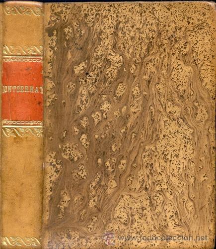MONTSERRAT – AÑO 1871 (Libros antiguos (hasta 1936), raros y curiosos - Historia Antigua)