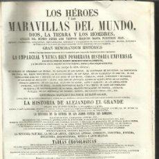 Libros antiguos: HÉROES Y MARAVILLAS DEL MUNDO. DIOS, LA TIERRA Y LOS HOMBRES. BENEDICTO CLEMENTE.TOMO IV. 1855. Lote 38985818