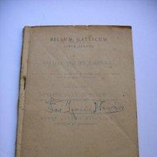 Libros antiguos: LIBRO BELLUM GALLICUM - LIBRO SEXTO (LA GUERRA DE LAS GALIAS). Lote 39128601