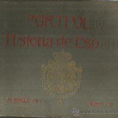 Libros antiguos: PORTAFOLIO. HISTORIA DE ESPAÑA. M. SANDOLVAL DEL RÍO. TOMO II. M. SEGUÍ EDITOR. BARCELONA. ANTIGUO. Lote 47705842