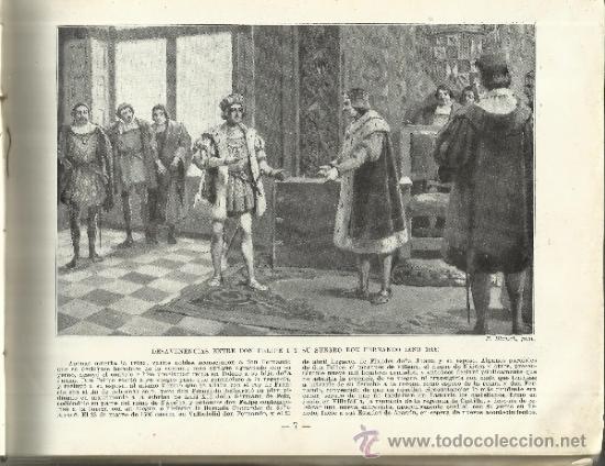 Libros antiguos: PORTAFOLIO. HISTORIA DE ESPAÑA. M. SANDOLVAL DEL RÍO. TOMO II. M. SEGUÍ EDITOR. BARCELONA. ANTIGUO - Foto 2 - 47705842