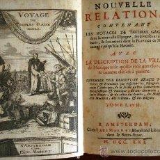 Libros antiguos: VOYAGES DE THOMAS GAGE DANS LA NOUVELLE ESPAGNE, LIBRO ORIGINAL DE 1721, EN FRANCÉS. Lote 39185680