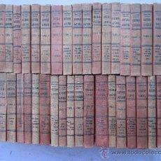 Libros antiguos: 41 LIBROS - HISTORIA UNIVERSAL - CESAR CANTU- CASI COMPLETA SON 43 AÑOS 20 , HERMANOS GASSO. Lote 39210481