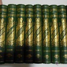 Libros antiguos: HISTORIA DE LAS NACIONES EL PROGRESO EDITORIAL 1889-93 EXCEPCIONAL ESTADO 12 TOMOS COMPLETA. Lote 39327888