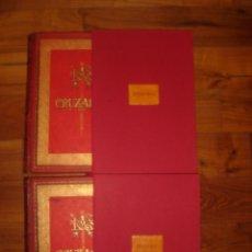 Libros antiguos: HISTORIA DE LAS CRUZADAS, MICHAUD, ILUSTRADO POR DORÉ, BARCELONA,1886-1887, ESPLÉNDIDO,GRAN TAMAÑO. Lote 39460668