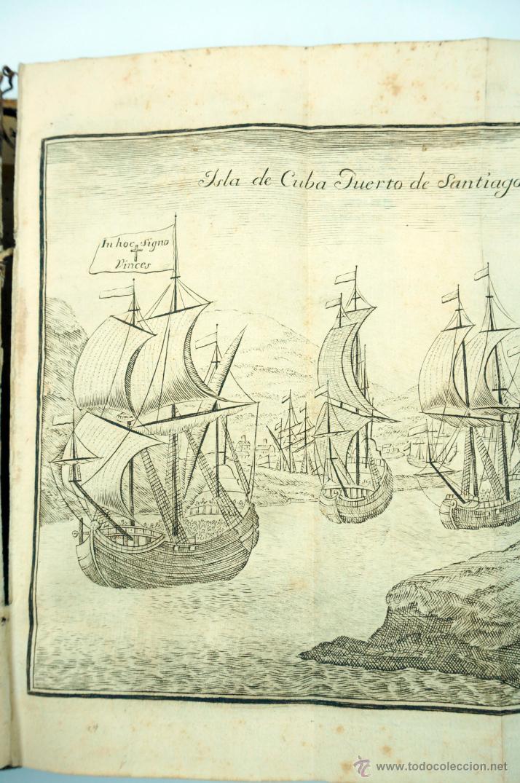 Libros antiguos: Historia de la conquista de Mexico, Antonio de Solis 2 tomos, piferrer ed, 1771. mapas y grabados - Foto 6 - 161752784