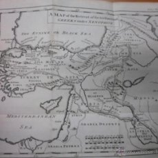 Libros antiguos: UNIVERFAL HIFTORY, VII,1748, DIVERSOS AUTORES.. CONTIENE 3 MAPAS DESPLEGABLES. Lote 39603400