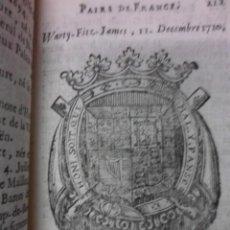 Libros antiguos: L´ETAT DE FRANCE, 1722, ANGE DE SAINTE-ROSALIE. Lote 39950947