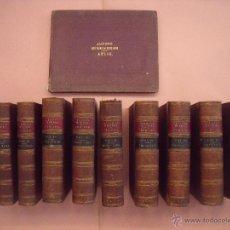 Libros antiguos: ARCHIBALD ALISON.-HISTORIA DE EUROPA.-EXCEPCIONAL OBRA Y RARA VEZ ENCONTRADA CON EL ATLAS.-AÑO 1875. Lote 40161079